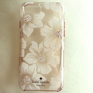 Kate Spade Floral IPhone 6/6s/7/8 phone case